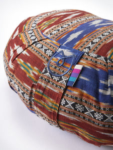 Yogamatters Bandha Ikat Crescent Meditation Cushion