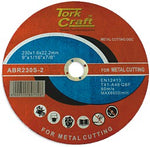 Tork Craft CUTTING DISC STEEL AND SS 230 X 1.6 X 22.22MM