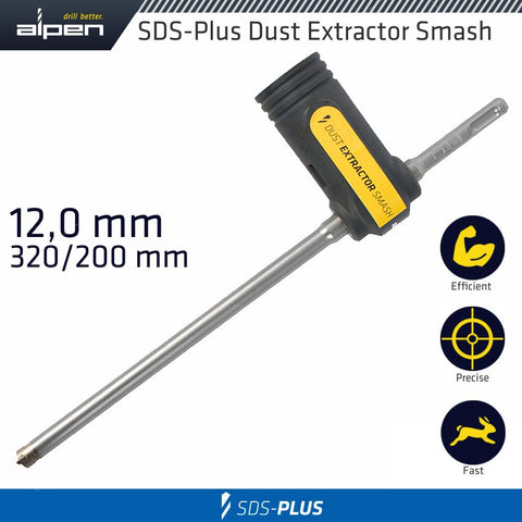 DUST EXT SMASH CONCRETE SDS 320/200 12.0