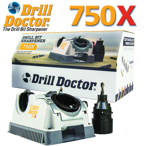 DRILL DOCTOR SHARPENER 2.5-19MM W/GRINDING ATT.