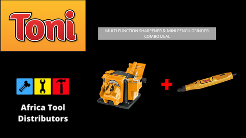 Toni Drill Sharpener And Pencil Grinder Combo Deal