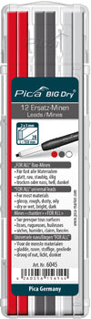 PICA BIG DRY REFILL SET ASSORTED GRAPHITE & WHITE & RED