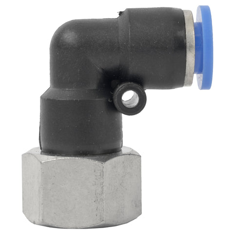 PU HOSE FITTING ELBOW 8MM-3/8 F