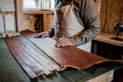 Why we use natural Vegetable Tanned Leather