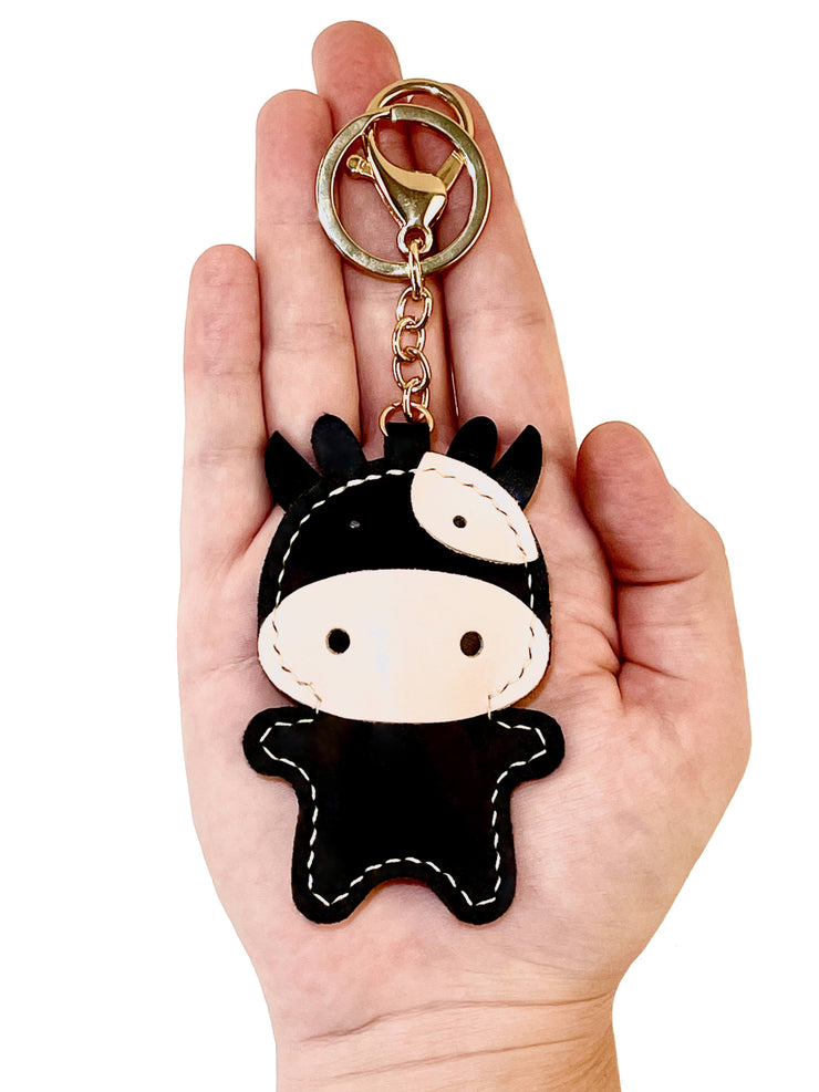Moo Cow Key Ring DIY Kit