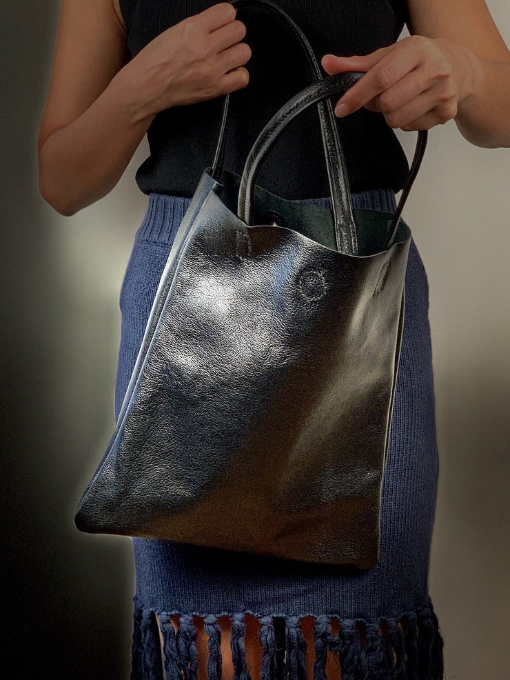 Italian Leather Tote Bag