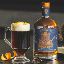 Lyre's Maple Coffee Mocktail