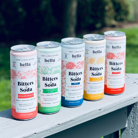 Hella Bitters Co. Bitters and Soda Non Alcoholic