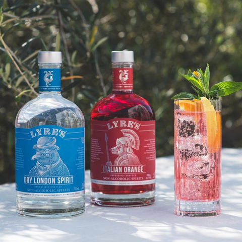 Lyre's Pink Gin Fizz
