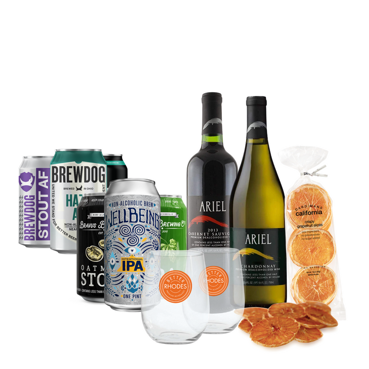 Holiday Hosting 101 Kit - Better Rhodes Non-Alcoholic