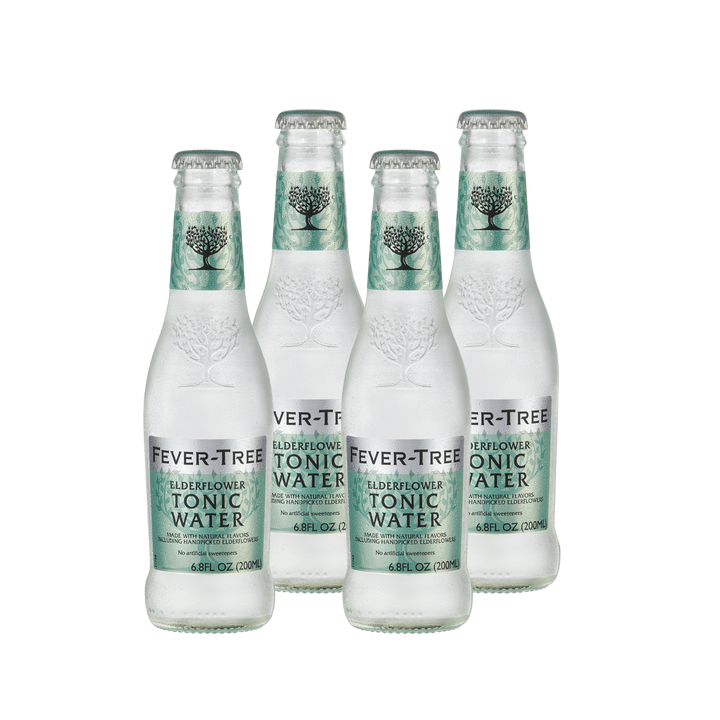 Fever Tree Elderflower Tonic Water | 4 pack