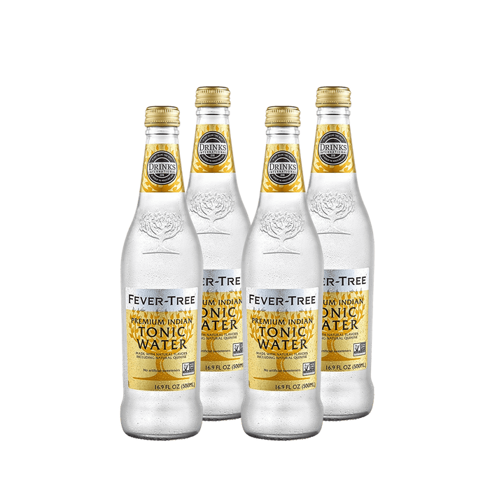 Fever Tree Premium Indian Tonic Water | 4 pack - BetterRhodes Non-alcoholic