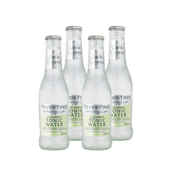 Fever Tree Refreshingly Light Cucumber Tonic Water | 4 pack - BetterRhodes Non-alcoholic