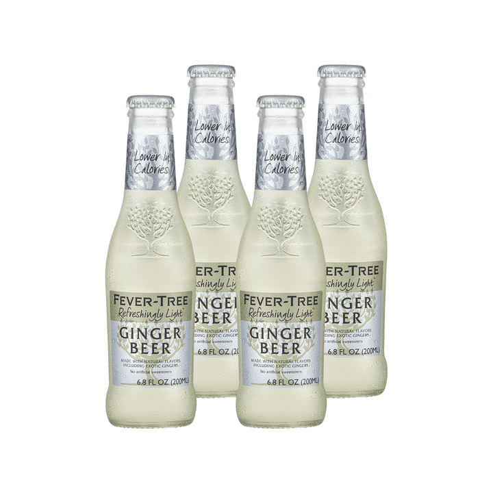 Fever Tree Refreshingly Light Ginger Beer | 4 pack - BetterRhodes Non-alcoholic