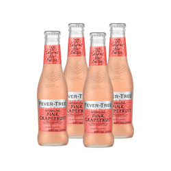 Fever Tree Sparkling Pink Grapefruit | 4 pack - BetterRhodes Non-alcoholic