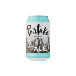 Partake Brewing's Pale I 6 Pack Non-Alcoholic