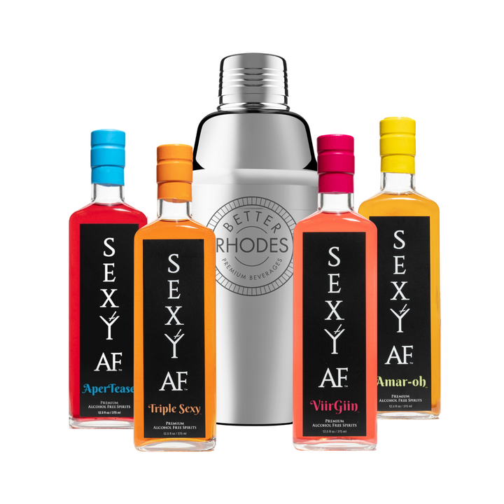 Sexy AF Mixology Kit - Better Rhodes Non-Alcoholic