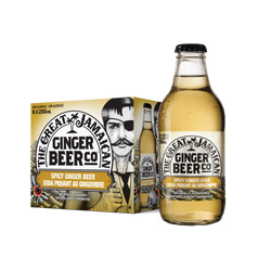 Great Jamaican Ginger Beer | 6 Pack - BetterRhodes Non-alcoholic
