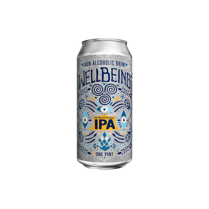 WellBeing Intentional IPA | 4 Pack - BetterRhodes Non-Alcoholic