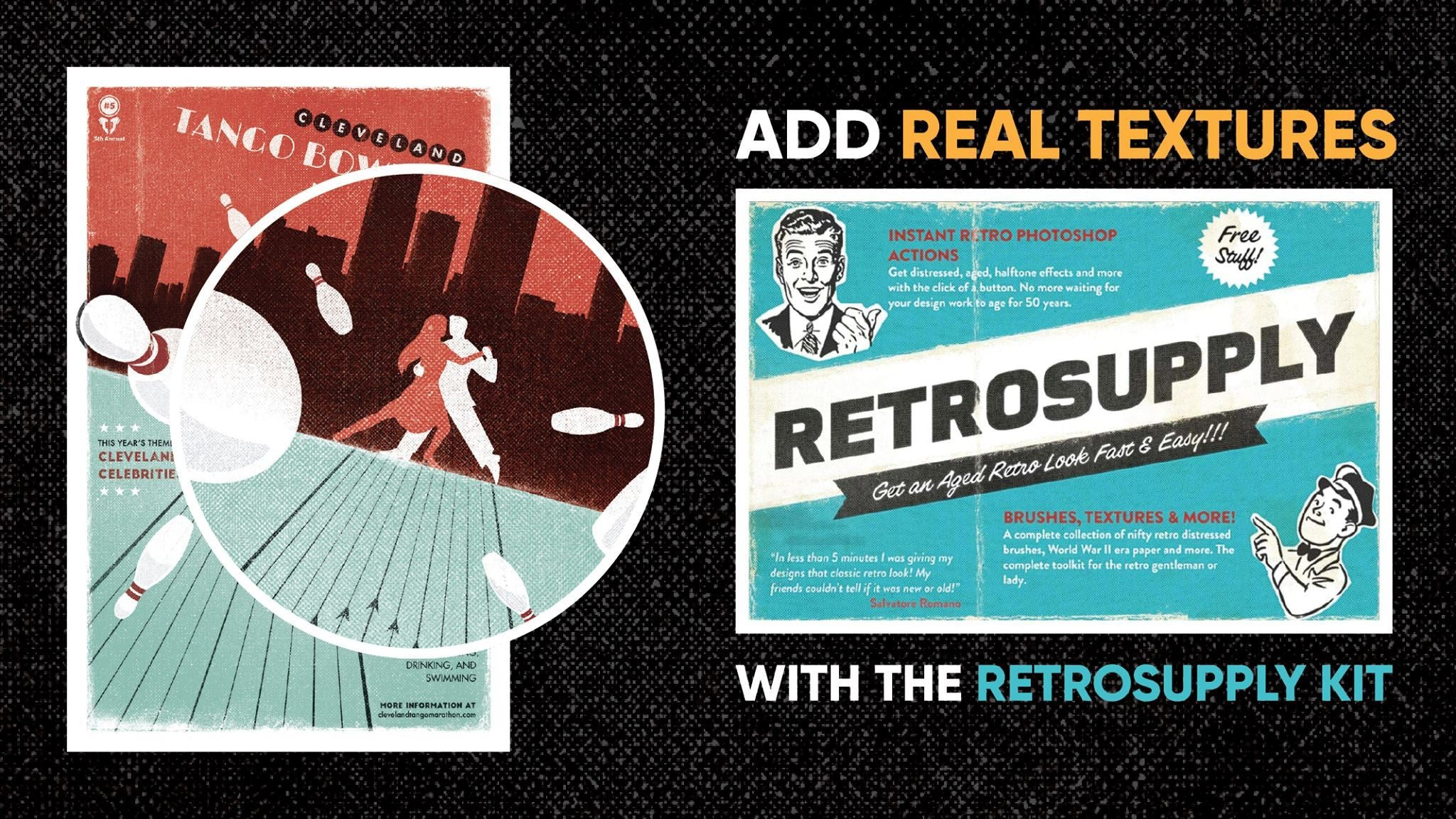 Add Real Depth and Texture with the RetroSupply PSD Kit