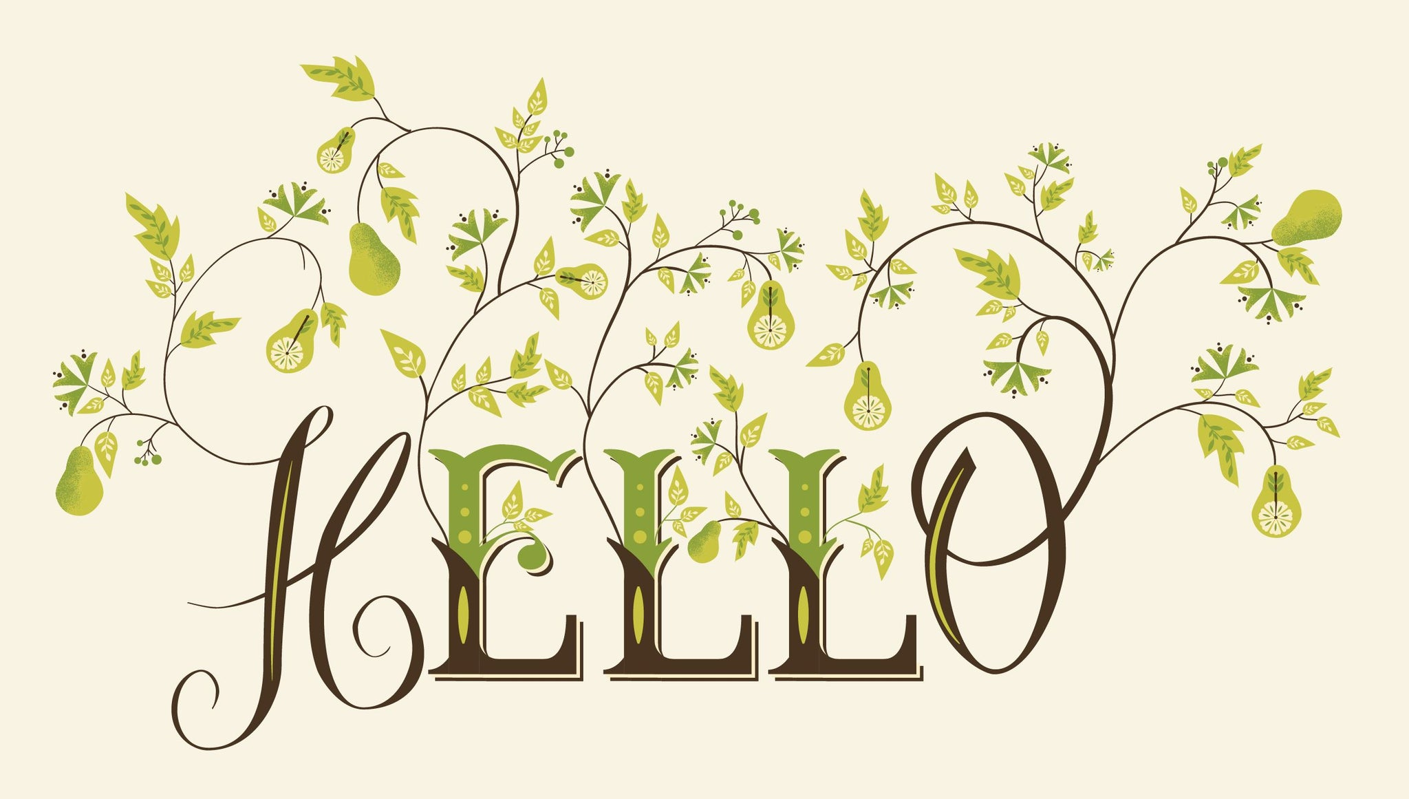 How to Create Botanical Lettering in Adobe Illustrator