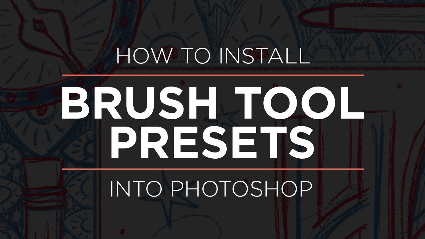 How to Install Brush Tool Presets .tpl into Photoshop