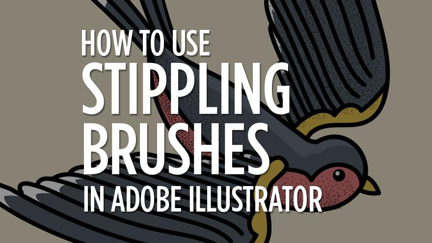 How to Use Stippling Brushes in Illustrator