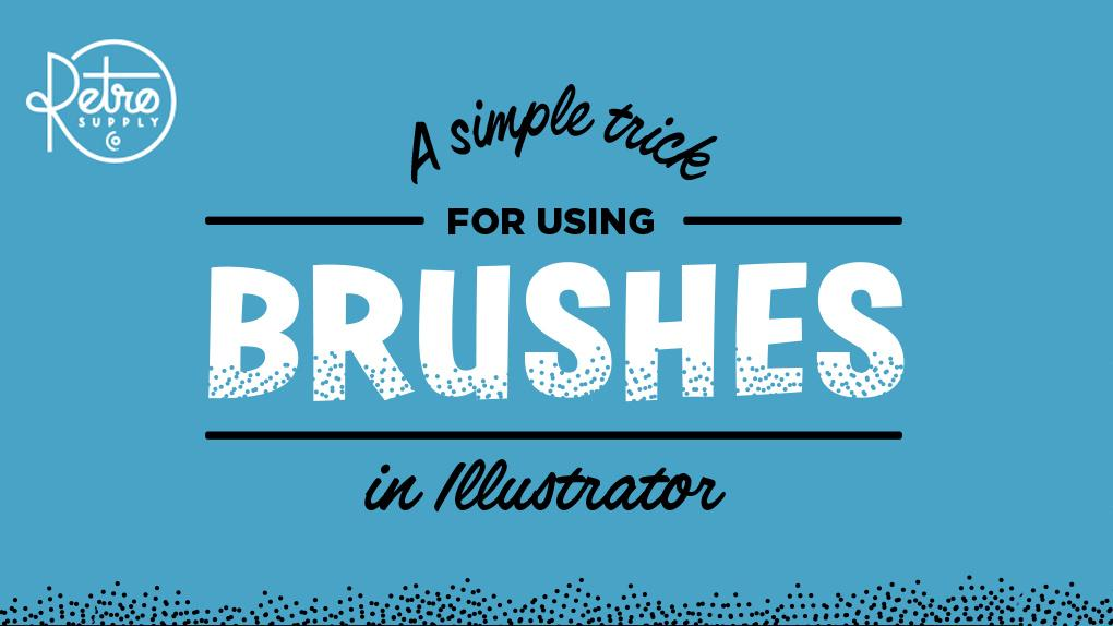 [Infographic] How to Cut Out Shapes with Brushes in Adobe Illustrator