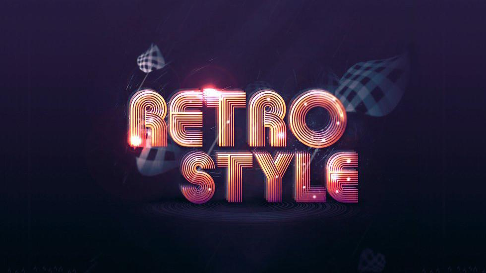 The best retro and vintage typography tutorials for Photoshop and Illustrator
