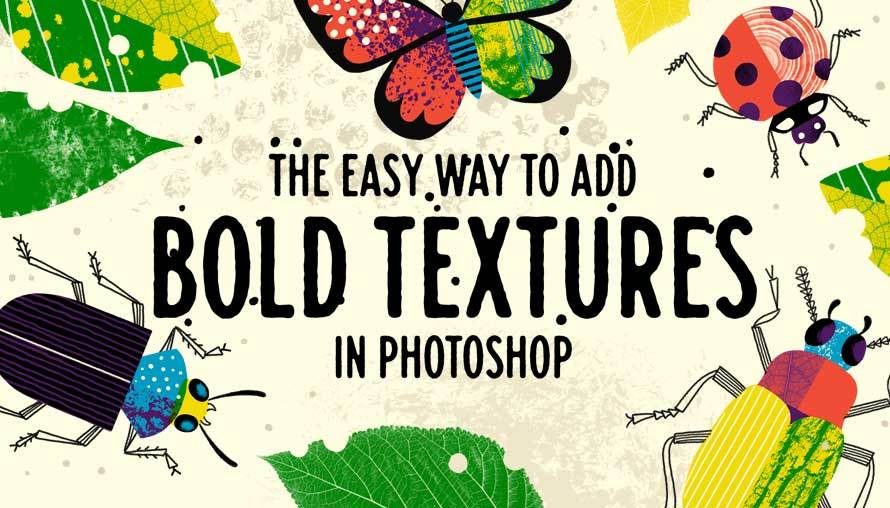 The Easy Way to Add Bold Textures to Your Illustrations in Photoshop