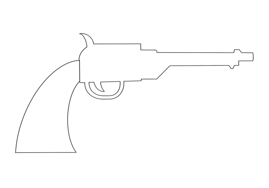 How To Draw A Vintage Pistol In Procreate Retrosupply Co