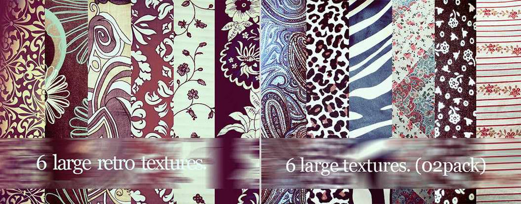 Free retro and vintage textures: large retro textures