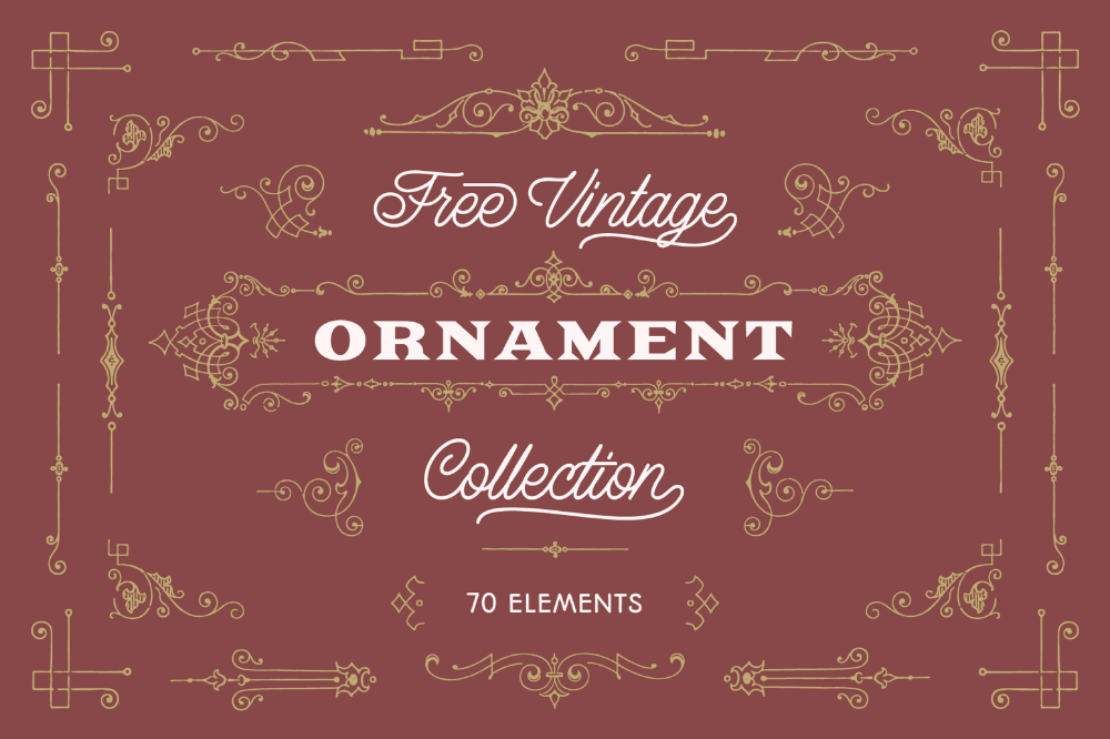 Vintage Ornament Collection