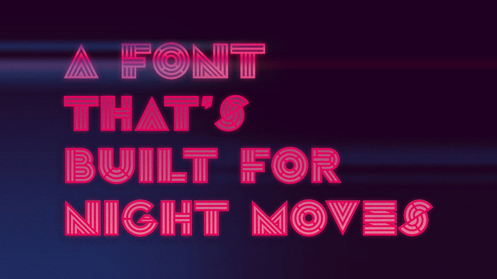 Best-Selling Retro Fonts: Aaron Sechrist, Leutner