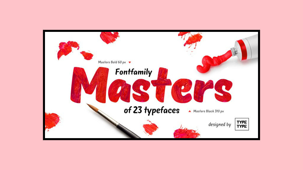 Free Retro and Vintage Fonts: TT Masters Demo Black