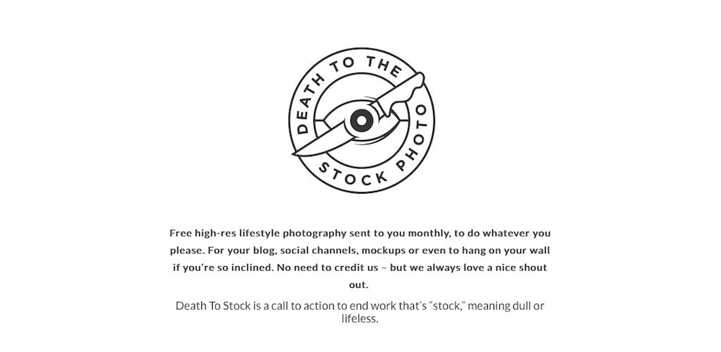 Best free retro and vintage resources: Death to Stock photography