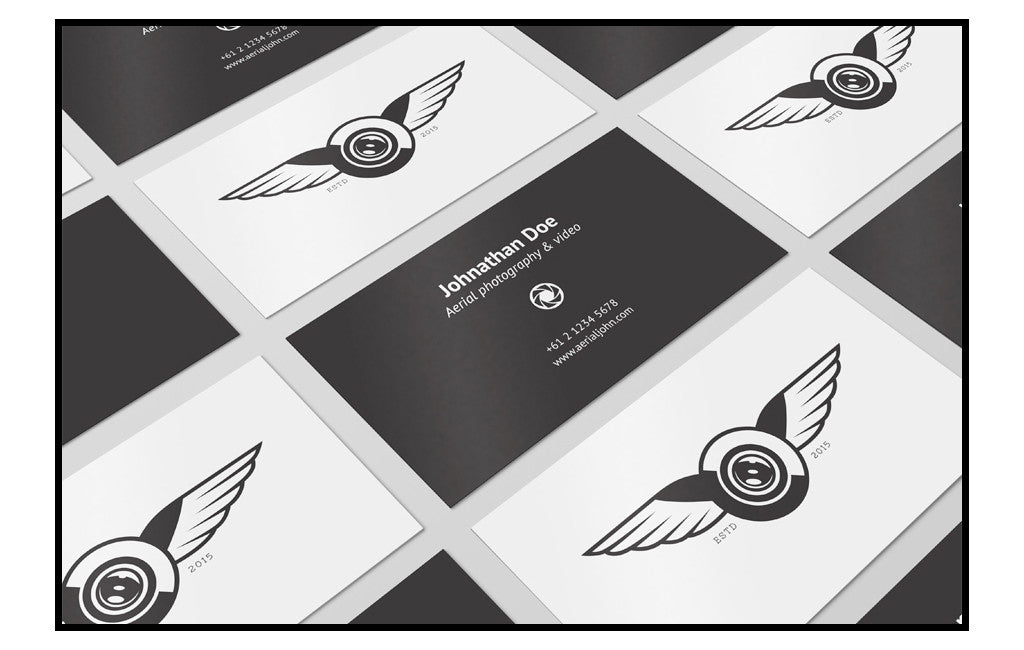 Best retro and vintage resources: business cards