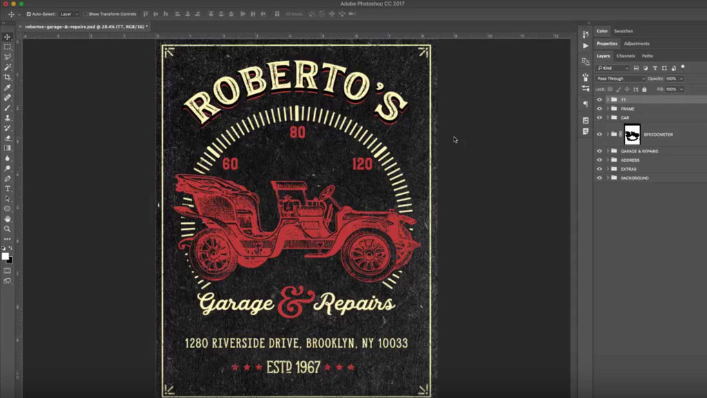 typography tutorials photoshop