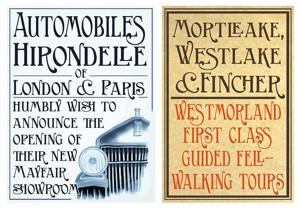 Best-Selling Retro Font: Birmingham New Street posters