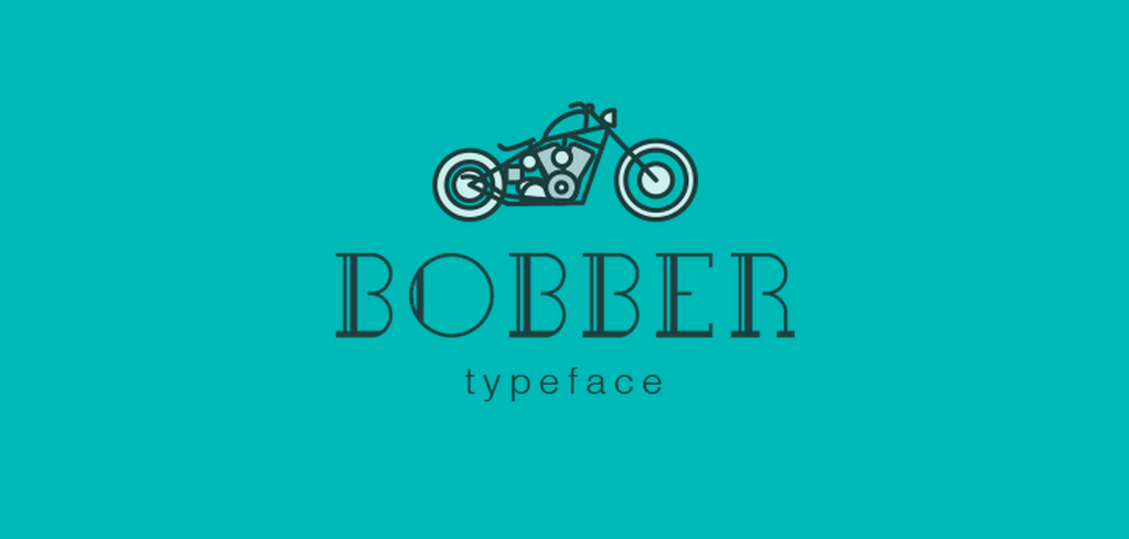 Free Retro and Vintage Fonts: Bobber