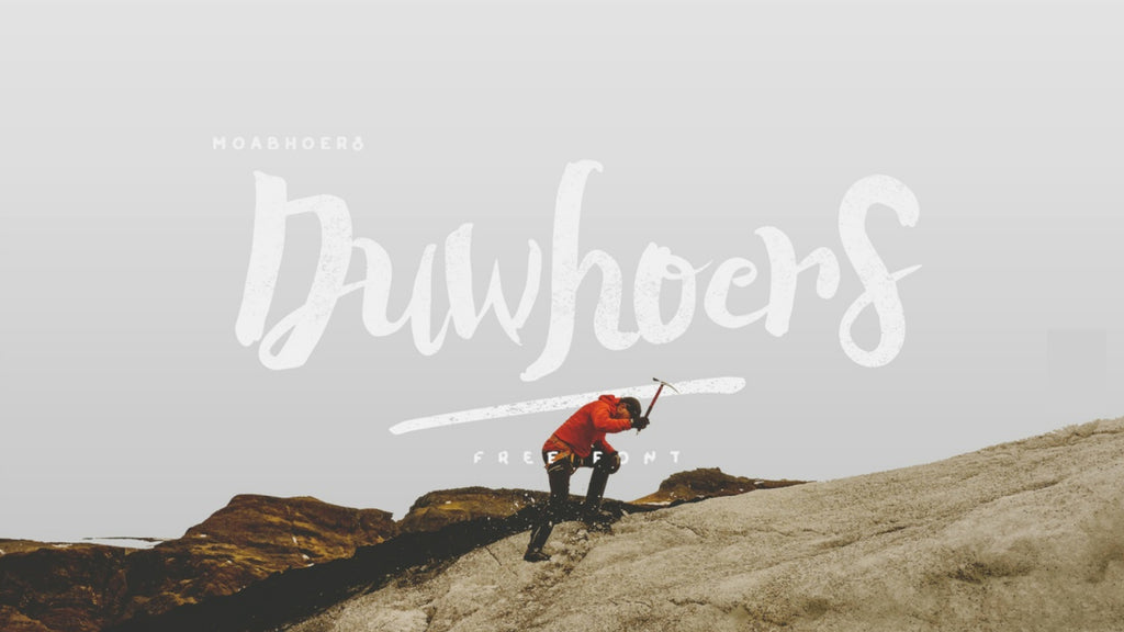 Free Retro and Vintage Fonts: Duwhoers