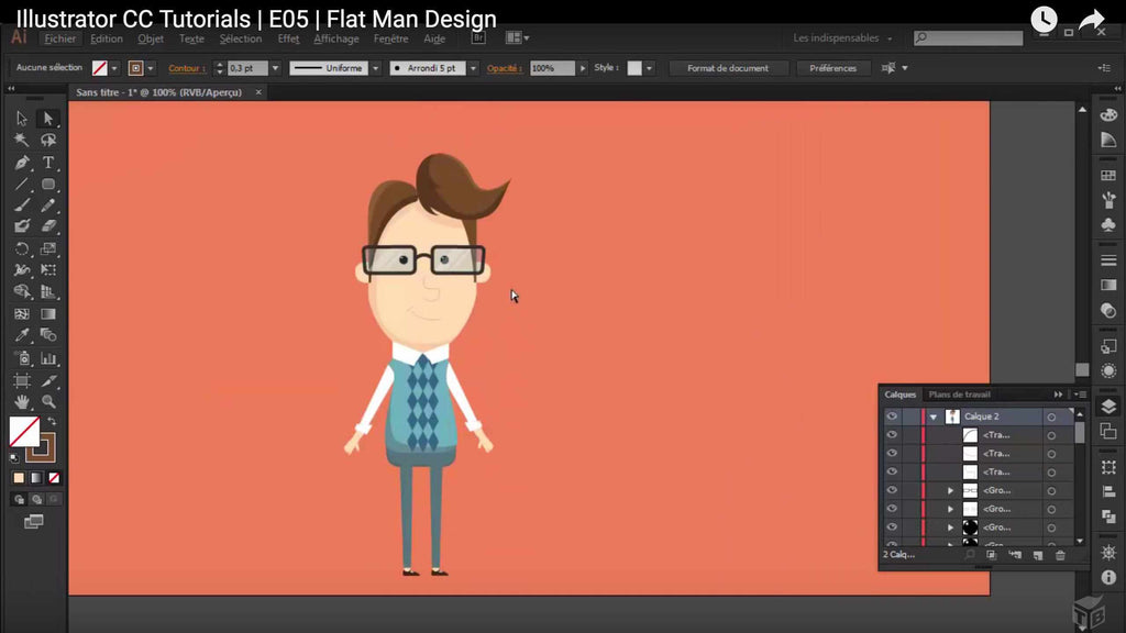 Character Design Tutorials In Illustrator : Inspiring retro character design tutorials