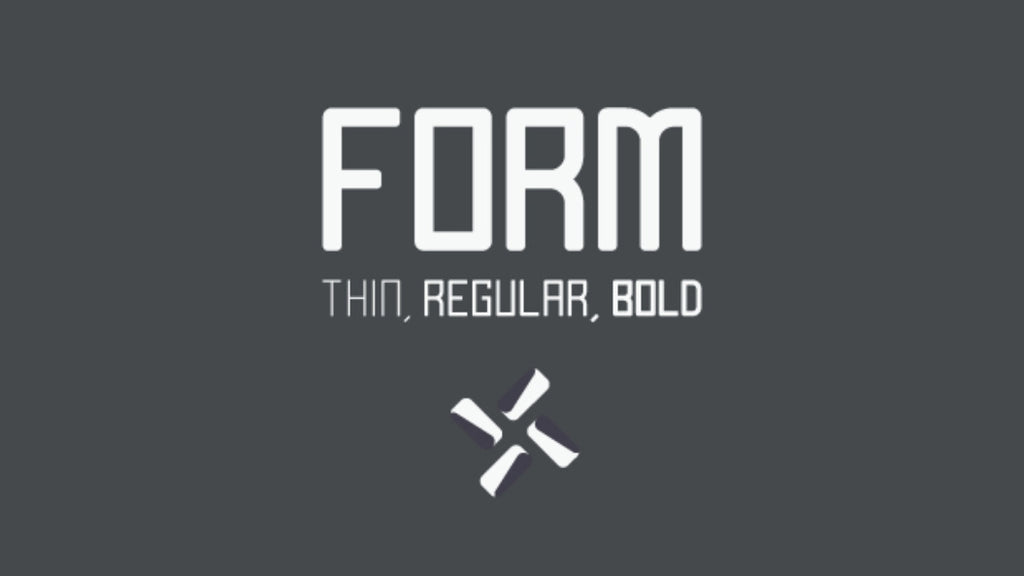 Free Retro and Vintage Fonts: Form