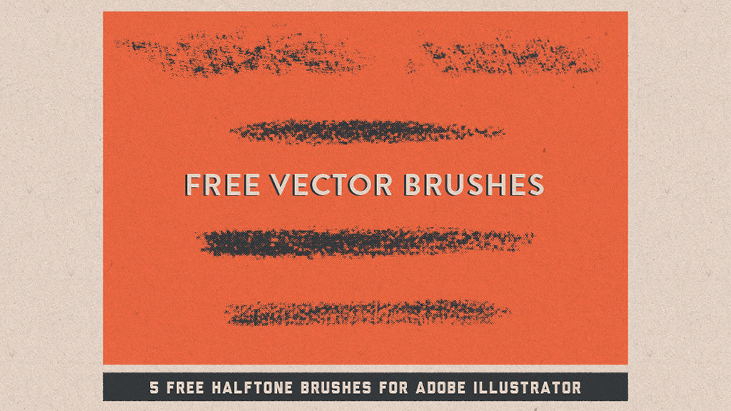 Free Illustrator brushes: Halftone Vector