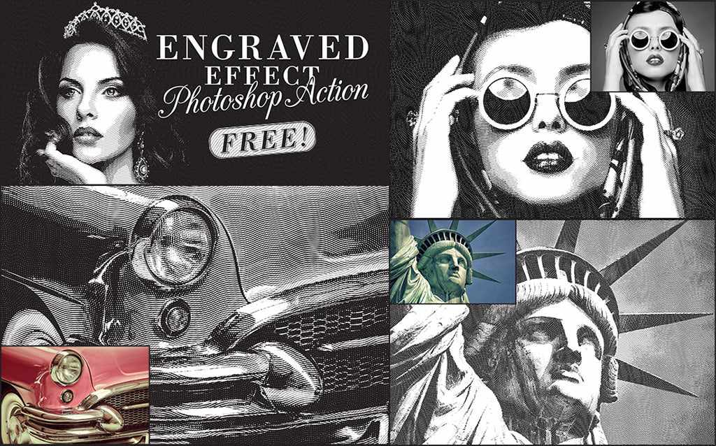 10 of the Best Free Vintage and Retro Photoshop Actions