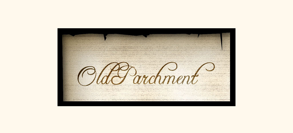 Free Retro and Vintage Photoshop Actions: Old Parchment