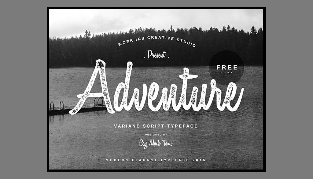 Free Retro and Vintage Fonts: Variane Script
