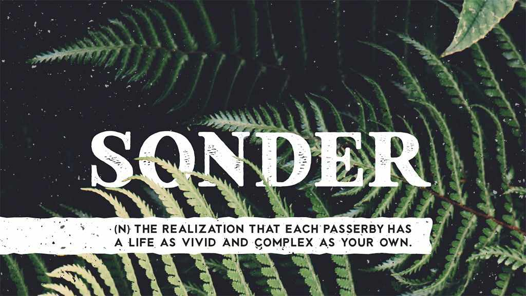 Free retro and vintage fonts: Sonder