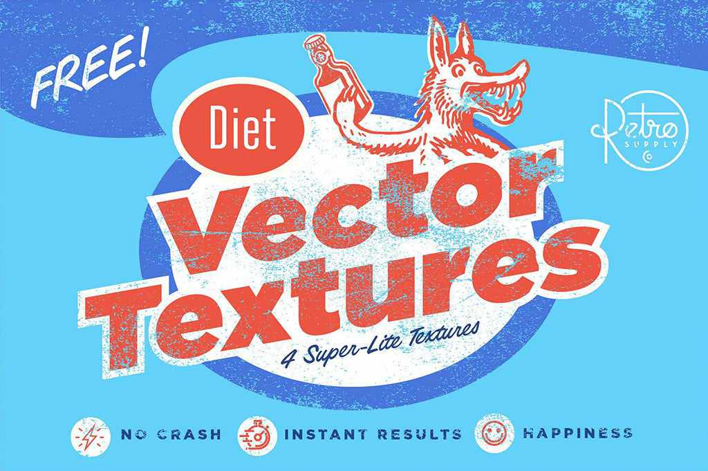 Best free retro and vintage resources: textures