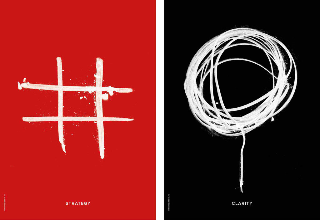 Win more clients: Freytag Anderson, Fraher architects visual identity, posters